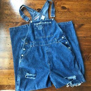 Vintage Bill Blass Jeans Denim Overalls size med